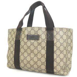 Auth Gucci Gg Shoulder Bag Pattern #3448G66